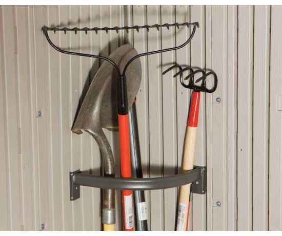 Tool Corral for Lifetime Storage Sheds